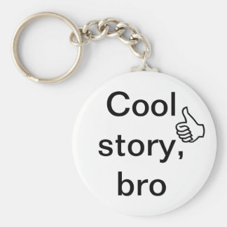 Kall berättelse, bro rund nyckelring