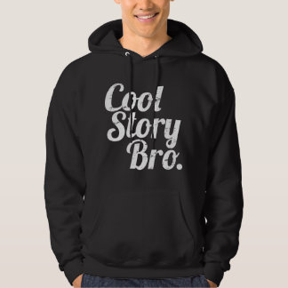 Kall berättelse Bro. Sweatshirt Med Luva