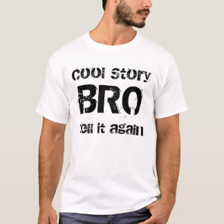 Kall berättelse Bro Tee
