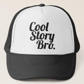 Kall berättelse Bro. Truckerkeps