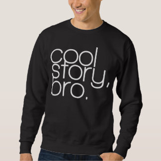"""kall berättelse, bro"" utslagsplats långärmad tröja"