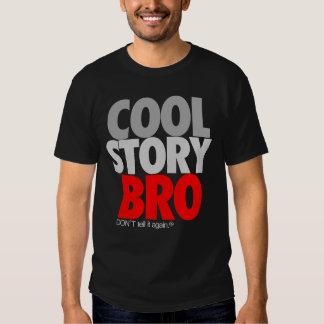 """Kall berättelse (röda) Bro"", Tshirts"