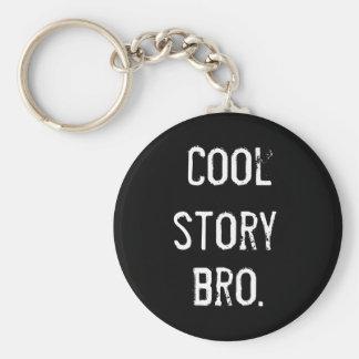 Kall berättelse rund nyckelring
