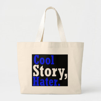 Kall berättelseHater -- T-tröja Tygkassar