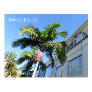 Kall Beverly Hills vykort! Vykort