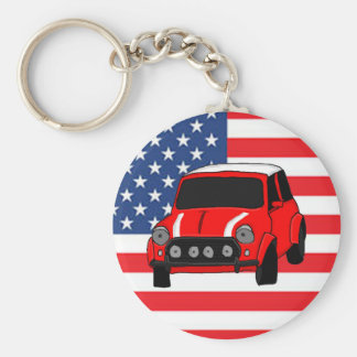 Kall bildesign rund nyckelring