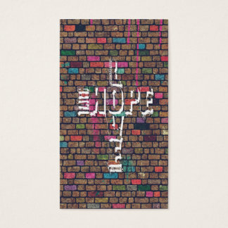 Kall enorm ord för grafitti för trokärlekhopp visitkort