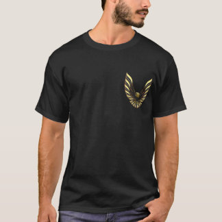 Kall fågel för ANPASSNINGSBARtrans.-förmiddag T-shirts