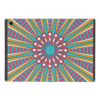 Kall färgrik Boho Mandala iPad Mini Fodral