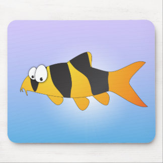 Kall fisk - clownloach musmatta