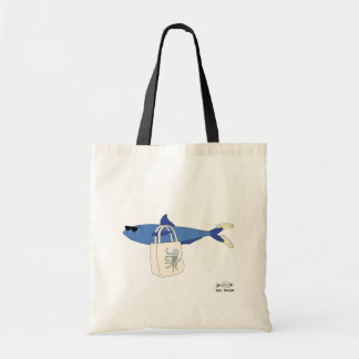 Kall fisk tote bags
