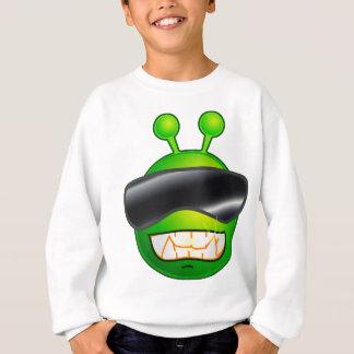 Kall främling med exponeringsglas t-shirts