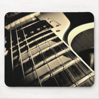 Kall gitarr Mousepad Mus Matta