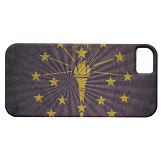 Kall GrungeIndiana flagga iPhone 5 Hud