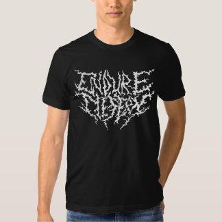 Kall heavy metalskjorta tee shirt