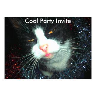 kall hic partyman, kall partyinbjudan tillkännagivande