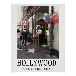 Kall Hollywood affisch! Poster