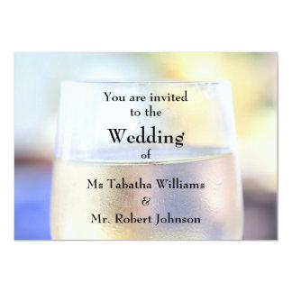 Kall inbjudan för bröllop för tryck för