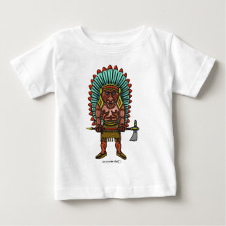 Kall indisk bebist-skjorta tee shirt
