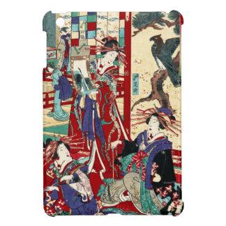 Kall japansk rulla för geisha för iPad mini skydd