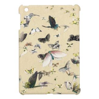Kall japansk rulla för vintageukiyo-efjäril iPad mini fodral