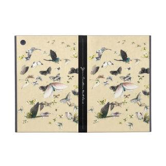 Kall japansk rulla för vintageukiyo-efjäril iPad mini skydd