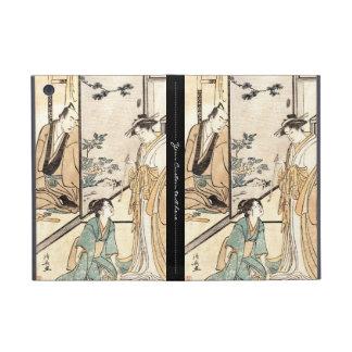 Kall japansk rulla för vintageukiyo-egeisha iPad mini fodral