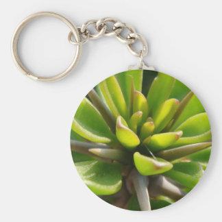 Kall kaktus rund nyckelring