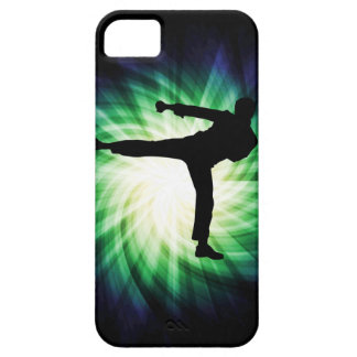 Kall Karate sparkar iPhone 5 Case-Mate Fodraler