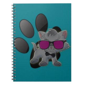 Kall katt anteckningsbok