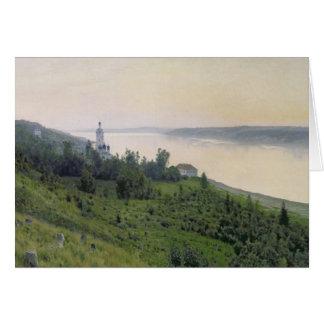 Kall landskap, 1889 hälsningskort