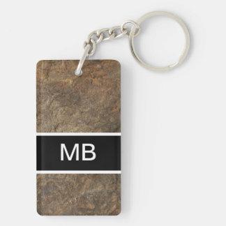 Kall manar Monogram Keychain