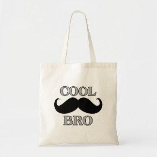 Kall mustasch Bro Budget Tygkasse