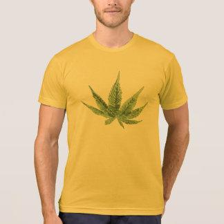 Kall ogräsdesign på manart-skjortan tröja