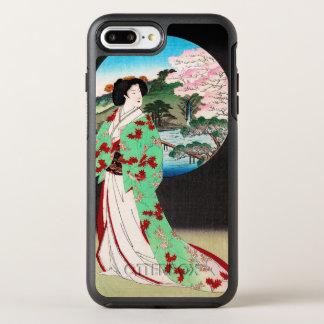 Kall orientalisk japansk konst för OtterBox symmetry iPhone 7 plus skal
