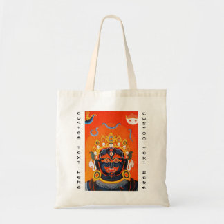 Kall orientalisk tibetan konst för thangkaBhairava Tygkasse