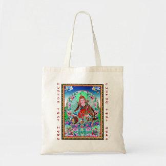 Kall orientalisk tibetan thangka Padmasambhava Tygkasse