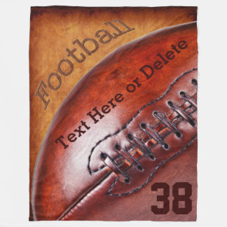 Kall PERSONLIG för filt för vintagefotbollkast