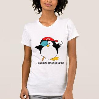 Kall piratpingvin t-shirt