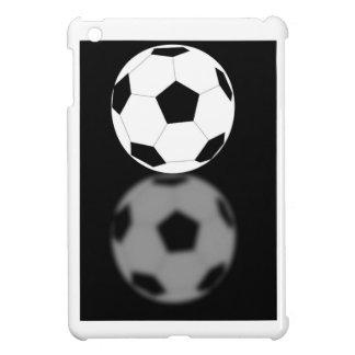 Kall rolig fotbollboll med sportfantasten för refl iPad mini mobil fodral