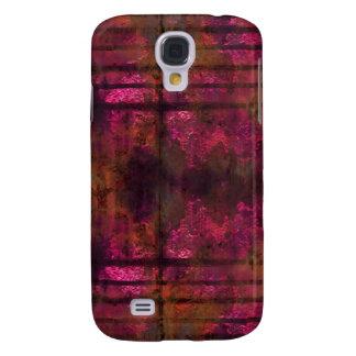 Kall rostig metalliPhone 3 täcker rosor 2 Galaxy S4 Fodral