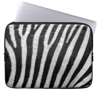 """Kall sebraabstrakt 13"""" laptop sleeve laptopskydd"""