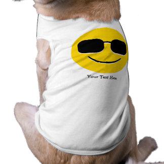 Kall solglasögon Emoji (anpassadet) Husdjurströja