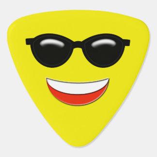 Kall solglasögon Emoji Plektrum
