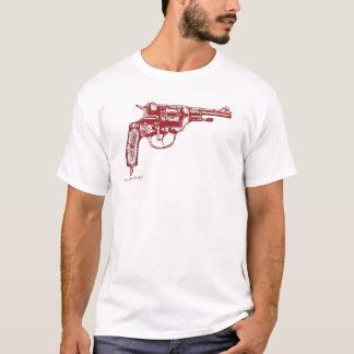 Kall t-skjorta för Nagant revolvergrafik design T-shirt