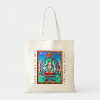 Kall tibetan thangkatatueringCundhi Bodhisattva Tygkasse