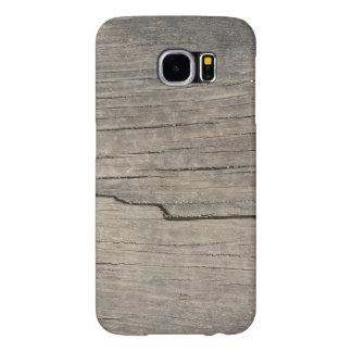 Kall unik Wood struktur Samsung Galaxy S6 Fodral