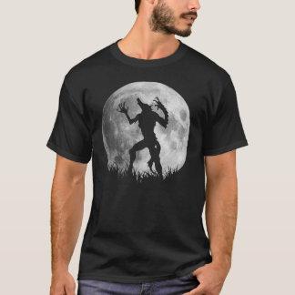 Kall Werewolffullmåneomformning T Shirt