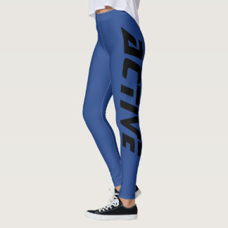 Kalla aktivsportblått leggings