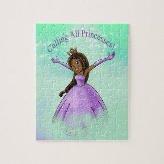 """Kalla alla Princesses"" pussel"